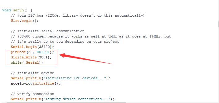 modify code